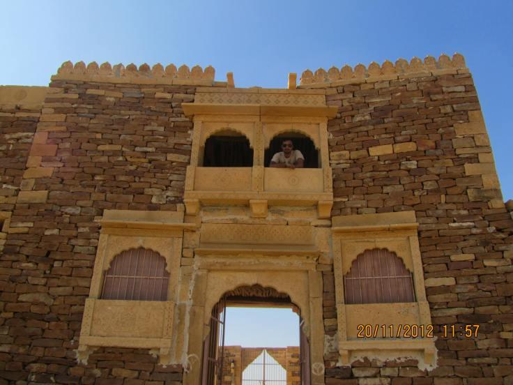 Khambha Fort outer View