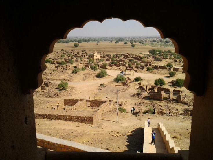 View from Khambha Fort
