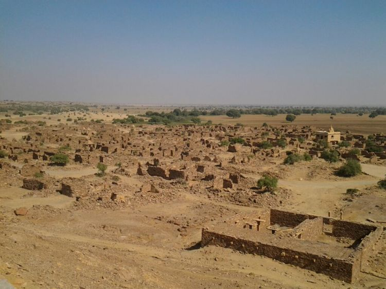 Ruins of Khambha Village